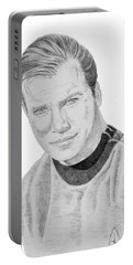 James Tiberius Kirk Portable Battery Charger
