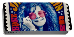 Janis Stamp In A Groovy Vibe Portable Battery Charger