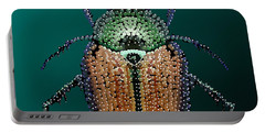 Japanese Beetle Bedazzled II Portable Battery Charger