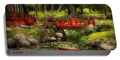 Japanese Garden - Meditation Portable Battery Charger