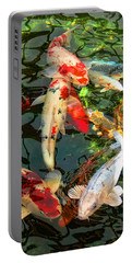 Japanese Koi Fish Pond Portable Battery Charger