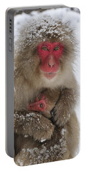 Japanese Macaque Warming Baby Portable Battery Charger