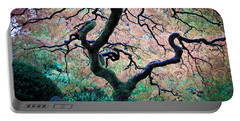 Japanese Maple In Autumn Portable Battery Charger by Athena Mckinzie