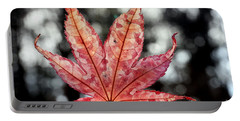 Japanese Maple Leaf - 2 Portable Battery Charger by Kenny Glotfelty