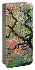 Japanese Maple Portable Battery Charger by Wendy McKennon