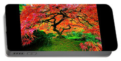Japanese Red Maple Portable Battery Charger