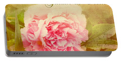 Jardin De Fleurs Portable Battery Charger by Trina  Ansel
