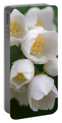 Jasmin Flowers Portable Battery Charger