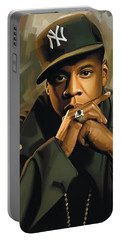 Jay-z Artwork 2 Portable Battery Charger