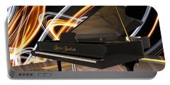 Jazz Piano Bar Portable Battery Charger