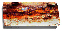 Portable Battery Charger featuring the digital art Jazz by Richard Thomas