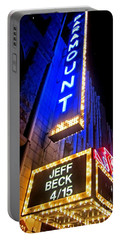 Portable Battery Charger featuring the photograph Jeff Beck At The Paramount by Fiona Kennard