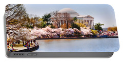 Jefferson Memorial Washington Dc Portable Battery Charger