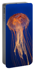 Portable Battery Charger featuring the photograph Jelly Fish by Eti Reid