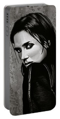 Jennifer Connelly Painting Portable Battery Charger