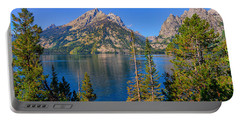 Jenny Lake Overlook Portable Battery Charger