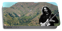Jerry Garcia And Mount Tamalpais Portable Battery Charger