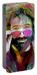 Jerry Garcia Art Portable Battery Charger