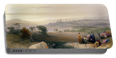Jerusalem, April 1839 Portable Battery Charger by David Roberts