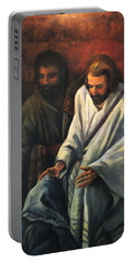 Jesus Healing Beggar Portable Battery Charger