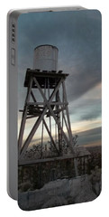 Jesus Saves Watertower - Route 66 Portable Battery Charger