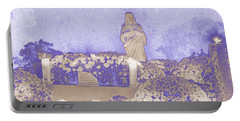 Portable Battery Charger featuring the photograph All Saints Day In Lacombe Louisiana by Luana K Perez