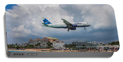 jetBlue in St. Maarten Portable Battery Charger