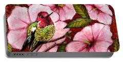 Jewel Among Blooms Portable Battery Charger