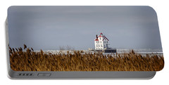 jewel of the Port Lorain Lighthouse Portable Battery Charger