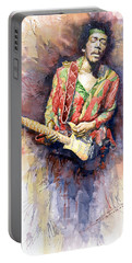 Rock Jimi Hendrix Music Portable Battery Chargers