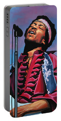 Jimi Hendrix 2 Portable Battery Charger