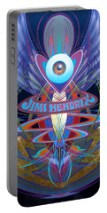 Jimi Hendrix Memorial Portable Battery Charger