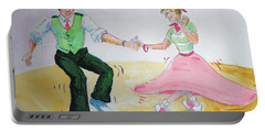 Jive Dancing Cartoon Portable Battery Charger