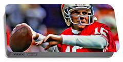 Joe Montana Portable Battery Charger