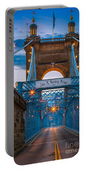 John A. Roebling Suspension Bridge Portable Battery Charger