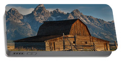 Portable Battery Charger featuring the photograph John And Bartha Moulton Barn by Jeff Goulden