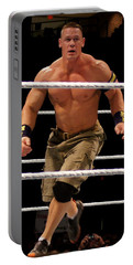 John Cena In Action Portable Battery Charger