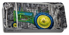 John Deere Green Portable Battery Charger by Craig T Burgwardt