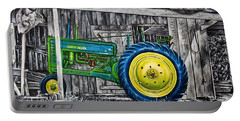 John Deere Green Portable Battery Charger
