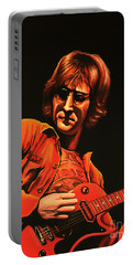 John Lennon Painting Portable Battery Charger
