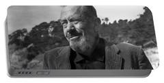 John Steinbeck Pebble Beach, Monterey, California 1960 Portable Battery Charger