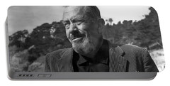 John Steinbeck Pebble Beach, Monterey, California 1960 Portable Battery Charger