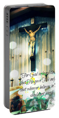 John316 - Easter Crucifix Portable Battery Charger