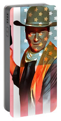 John Wayne American Icon Portable Battery Charger