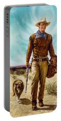 John Wayne Hondo Portable Battery Charger