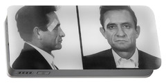 Johnny Cash Folsom Prison Large Canvas Art, Canvas Print, Large Art, Large Wall Decor, Home Decor Portable Battery Charger