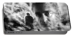 Johnny Cash Train Ride To Glory Portable Battery Charger