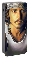 Johnny Depp Portable Batteries Chargers