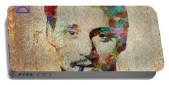 Johnny Depp Watercolor Splashes Portable Battery Charger