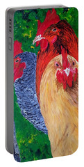 John's Chickens Portable Battery Charger
